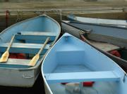 Bar Photos - Dinghies of Bar Harbor by Juergen Roth