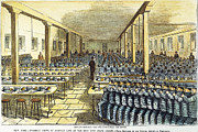 Punishment Prints - DINNER AT SING SING, c1878 Print by Granger