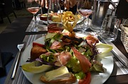 Wine Service Photo Metal Prints - Dinner is served Metal Print by Dany Lison