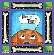 Pamela Corwin Art - Dinner Time by Pamela  Corwin