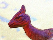 Dino Digital Art - Dino Closeup by Gavriel Hanimov