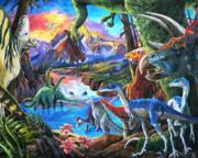 Dinosaur Print by Nadi Spencer