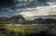 Badlands Photos - Dinosaur Valley by Wayne Sherriff