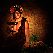 Delicious Digital Art Prints - Dionysus Print by Lourry Legarde
