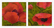 Rita Bentley - Diptych Sample