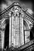 French Gothic Architecture Posters - Directional Poster by John Rizzuto