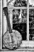 Musician Art - Dirty Banjo Mandolin by Bill Cannon