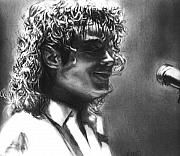 Mj Drawings - Dirty Diana by Carliss Mora