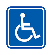 Disability Posters - Disability Sign, Computer Artwork Poster by 