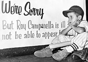Baseball Cap Posters - Disappointed Boy, 1957 Poster by Granger