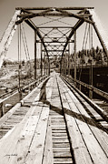 Old Bridge Photos - Discarded Bridges by Donna Blackhall