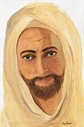 Religious Icons Paintings - Discernment by Phyllis Howard