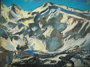 Mountain Road Pastels Prints - Discipline Print by Heath Draney