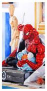 Spiderman Paintings - Discovered by Debra Jones