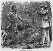 Slavery Photo Prints - Discovery Of Nat Turner 1800-1831 Print by Everett