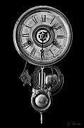 Disembodied Time Print by Joe Bonita