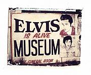 Elvis Presley Photos - Disgraceland No. 2 by Jane Linders