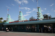 Anaheim Prints - Disney California Adventure - Anaheim California - 5D17521 Print by Wingsdomain Art and Photography