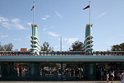 California Adventure Framed Prints - Disney California Adventure - Anaheim California - 5D17522 Framed Print by Wingsdomain Art and Photography