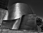 Chuck Kuhn Metal Prints - Disney Concert Hall III Metal Print by Chuck Kuhn