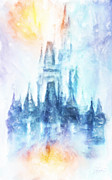 Castle Acrylic Prints - Disney Dream Acrylic Print by Joel Payne