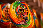 Downtown Disney Photos - Disney Lollipop by Jason Blalock