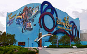 Walt Disney World Digital Art - Disney Quest Florida by David Lee Thompson