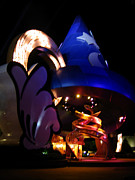 Disney Art - Disney World Magic Hat by Denise Keegan Frawley