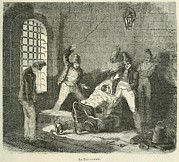 Whipping Prints - Disorderly Prisoner Is Punished Print by Everett