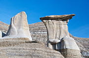 Hoodoos Framed Prints - Dissimilar Hoodoos Framed Print by David Kleinsasser