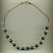 Luminous Jewelry - Distant Galaxy by Allie Hafez