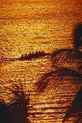 Distant View Of Outrigger Print by Ron Dahlquist - Printscapes