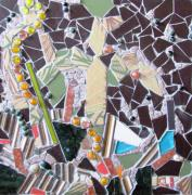 Mosaic Mixed Media - Distinction by Cristina-Mary Buzamet