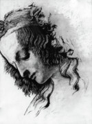 Christ Drawings - Districhi di Magdalene by Priscilla Vogelbacher
