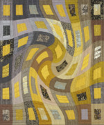 Featured Tapestries - Textiles Originals - Disturbances 1 by Marilyn Henrion