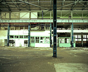 Factory Photo Originals - Disused Factory by Jan Faul