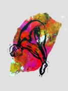 Dive - Warm Print by Adam Kissel