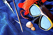 Snorkel Metal Prints - Dive Gear Metal Print by Carlos Caetano