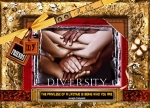 Awareness Mixed Media Posters - Diversity Poster by Kathy Tarochione