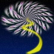 Divine Fireworks Print by Ganesh Barad