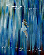 Divine Flow Print by The Art With A Heart By Charlotte Phillips