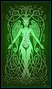 Tribal Art Digital Art - Divine Life by Cristina McAllister