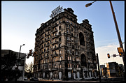 Ruins Digital Art Metal Prints - Divine Lorraine Hotel Metal Print by Bill Cannon