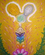 Growth Pastels - Divine Union by Lee-Anne Peters