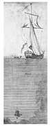 18th Century Prints - DIVING BELL, 18th CENTURY Print by Granger