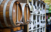 Wine Barrel Photos - DIY Wine by Heather Applegate