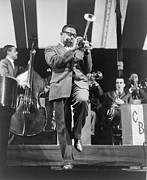 1950s Music Photos - Dizzy Gillespie 1917-1993 Playing Horn by Everett