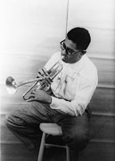 1950s Music Photos - Dizzy Gillespie, Portrait By Carl Van by Everett