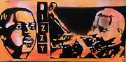 Tony B. Conscious Paintings - DIZZYness by Tony B Conscious
