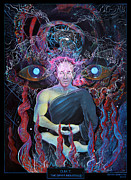 Steve Griffith Posters - DMT - The Spirit Molecule Poster by Steve Griffith